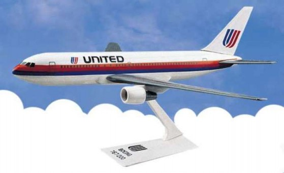 Flight Miniatures United Airlines Boeing B767