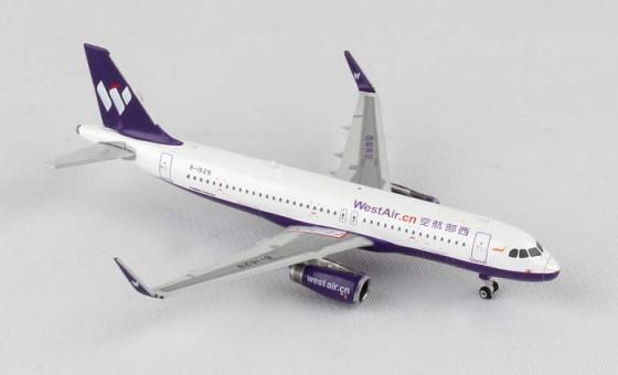 West Air (China)  Airbus A320 W Sharklets  Reg# B-1629 Phoenix 11293 Scale 1:400