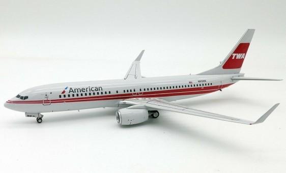American TWA Retro Boeing 737-800 N915NN InFlight IF738W0618 scale 1:200