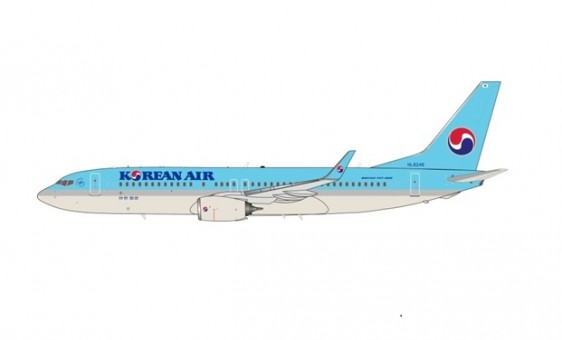Korean Air Boeing 737-8LH HL8246 InFlight/JFox JF-737-8-014 scale 1:200
