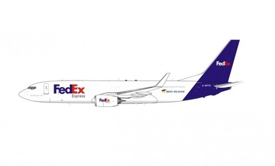 West Atlantic (FedEx) Boeing 737-8LH G-NPTD InFlight/JFox JF-737-8-015 scale 1:200