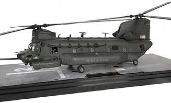 U.S. Army Chinook MH-47G Helicopter 160th SOAR Force of Valor FV-821005E scale 1:72