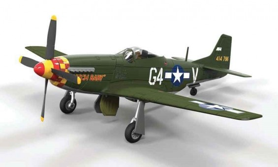"P-51D Mustang Lt. Julian H Bertram, 362nd FS, ""Butch Baby"" Corgi Aviation AA27701 Scale 1:72"