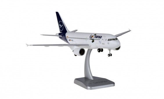 "Lufthansa ""Lu"" Airbus A319 new livery D-AILU gears & stand Hogan HGDLH018 scale 1:200"