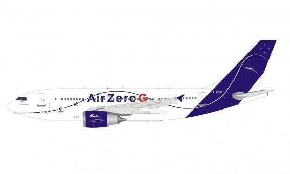 """NovaSpace Airbus A310-304 """"Air Zero G"""" F-WNOV with stand InFlight IF310ZEROG scale 1:200"""