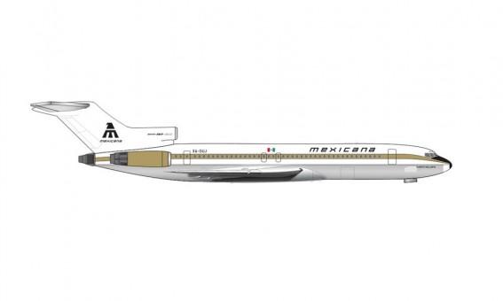 Mexicana Boeing B727-200 Golden Aztec Herpa 535052 Herpa Scale 1:500