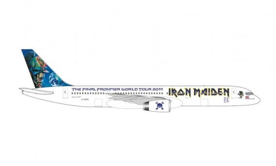 "Astraeus Iron Maiden Boeing 757-200 ""Ed Force One"" The Final Frontier World  2011 G-STRX Herpa diecast 535267 scale 1:500"