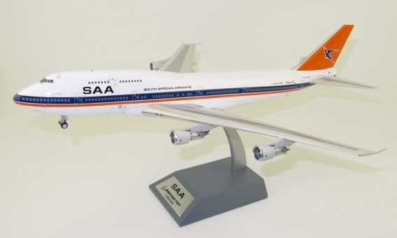 South African Airways Boeing 747-300 ZS-SAU With Stand InFlight IF743SA1218 scale 1:200