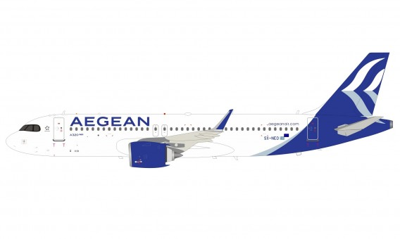 Aegean Airlines Airbus A320-271 SX-NEO stand InFlight IF320NA30420 scale 1:200
