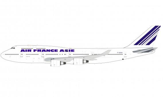 Air France Asie Boeing 747-400 F-GISA InFlight/B-models B-744-AF-01 scale 1:200