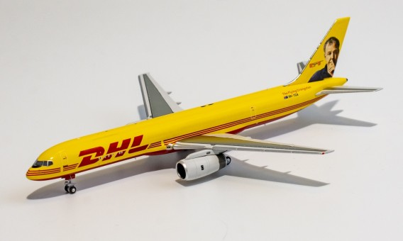 """DHL Boeing 757-200PCF VH-TCA Jeremy Clarkson """"The Flying Orangutan"""" die-cast NG Models 53169 scale 1:400"""