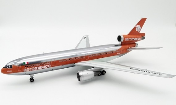 AeroMexico DC-10-30 Polished XA-DUH stand Inflight IFDC10AM0119P scale 1:200