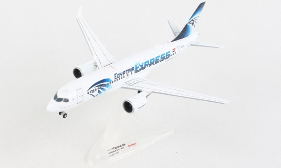 Egypt Air Express Airbus A220-300 SU-GEX Herpa 570787 scale 1:200