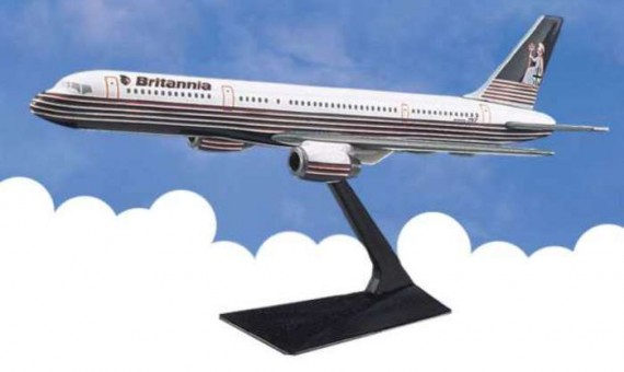 Flight Miniatures Britannia Airways Boeing B757