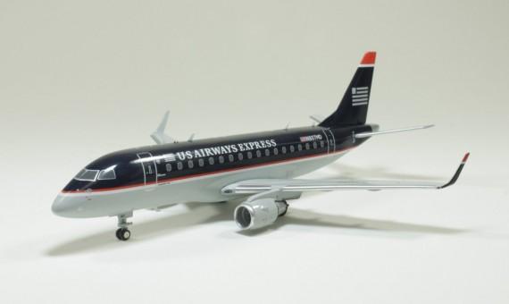 """US Airways  Express Embraer ERJ-170  """"Dark Blue""""  N807MD 1:200"""
