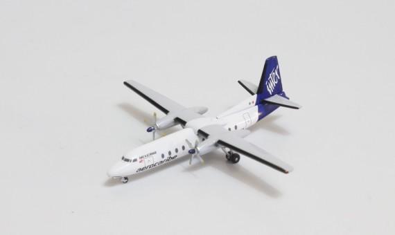 Aerocaribe Inter (Mexicana) Fairchild FH-227 XA-CZA diecast Aeroclassics AC419740 scale 1:400