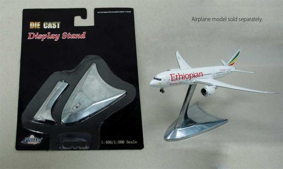 Witty Wings Die Cast Display Stand 1:400 & 1:500 WTW-4-000-1S, 1:400