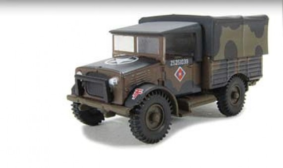 """Bedford MWD Truck """"Mickey Mouse"""" Camouflage 1:76 Scale Oxford"""