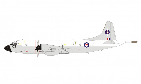 New Zealand Air Force Lockheed P-3K Orion NZ4203 Kiwi with stand InFlight IFP3RNZAF12 scale 1:200