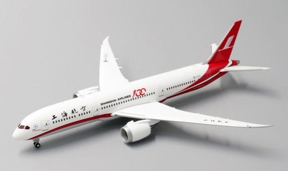Shanghai Airlines Boeing 787-9 B-1111 100th Shanghai Airlines JC Wings LH4CSH128 scale 1:400