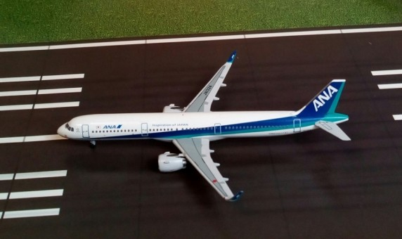 ANA All Nippon Airways Airbus A321neo registration JA132A Aeroclassics AC19189 scale 1:400