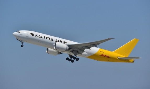 DHL Kalitta Air Cargo Boeing 777-200LRF N772CK Phoenix 04380 diecast scale 1:400