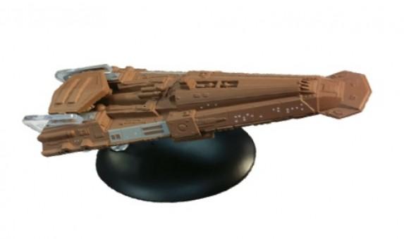 Bajoran Freighter Star Trek Die-Cast by Eagle Moss EM-ST0101