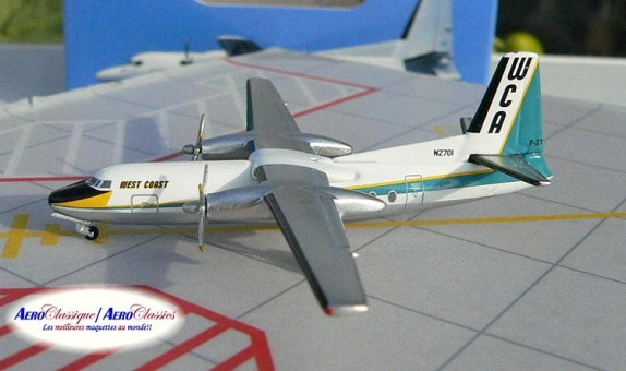 West Coast Airlines F-27  N2701 northern california