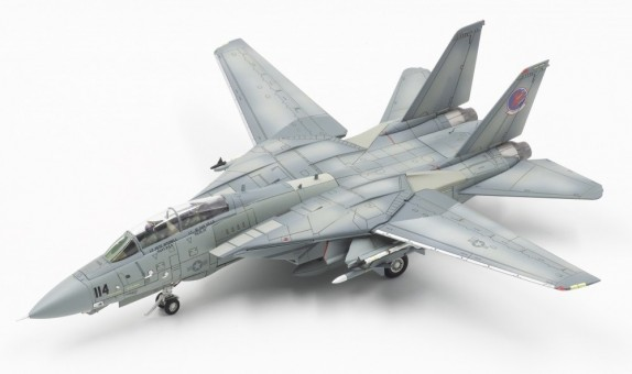 USNFWS F-14A Tomcat Red Eagle 114 NAS Miramar CA Calibre Wings CL-CA72TP04-W (washed) scale 1:72