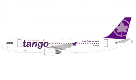 Air Canada Tango Airbus A320-200 C-FLSF InFlight/B-Models B-320-AC-08 scale  1:200