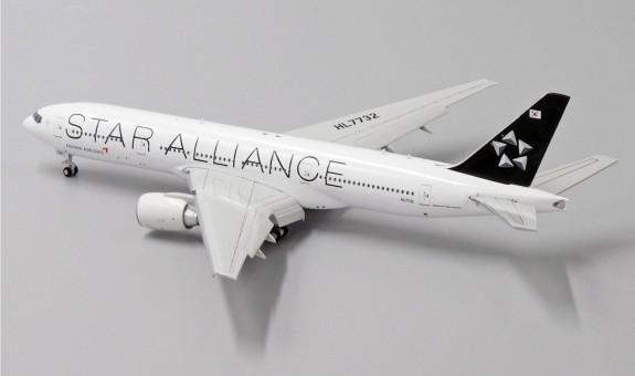 Asiana Boeing 777-200ER HL7732 Star Alliance JC JC4AAR089 scale 1:400