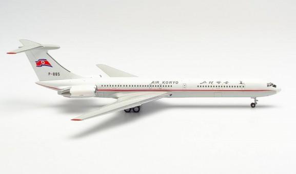New Mould! Air Koryo Ilyushin IL-62M 고려항공 P-885 Илью́шин Ил-62 Herpa 534130 scale 1:200