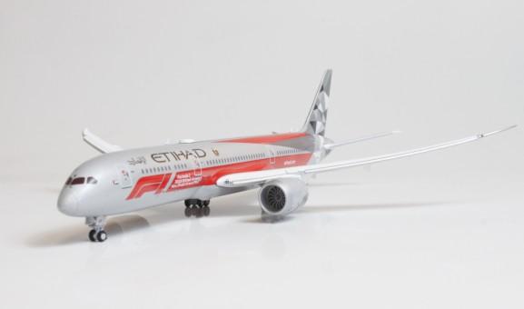 Etihad Boeing 787-9 F1 Grand Prix Livery Flaps Down A6-BLV EW4789002A Scale 1:400