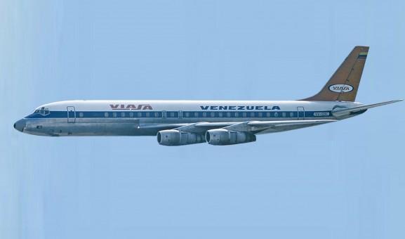 Viasa Venezuela DC-8-52 YV-129C Aero200 AC219725A scale 1:200