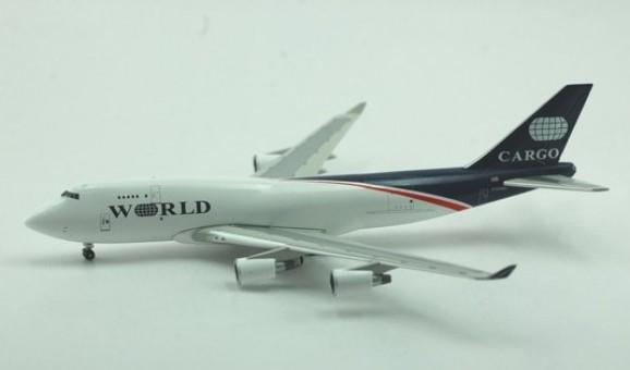 1/400  WORLD AIRWAYS CARGO 747-4H6 (BDSF) ~ N740WA