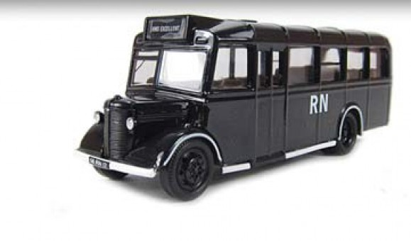 Bedford OWB Bus Royal Navy 1:76 Scale Oxford