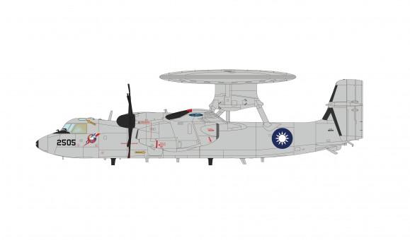 ROCAF Taiwan Grumman E-2T Hawkeye 2505 Hobby Master HA4814 scale 1:72