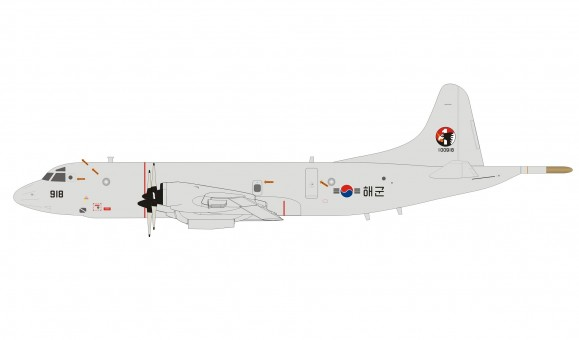 South Korea Navy Lockheed P-3CK Orion 100918 with stand InFlight IFP3RC0K01 scale 1:200