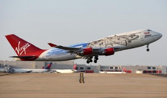 Virgin Atlantic Boeing 747-400 G-VLIP die-cast Phoenix scale 1400