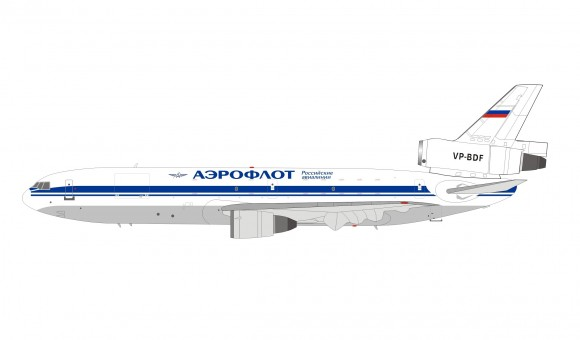 Aeroflot Russian Airlines DC-10-40 VP-BDF Аэрофлот with stand InFlight IFDC10SU0819 scale 1:200