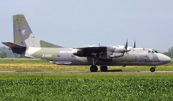 Czech Air Force Antonov AN-26 2409 die-cast by AviaBoss models A2027 scale 1:200