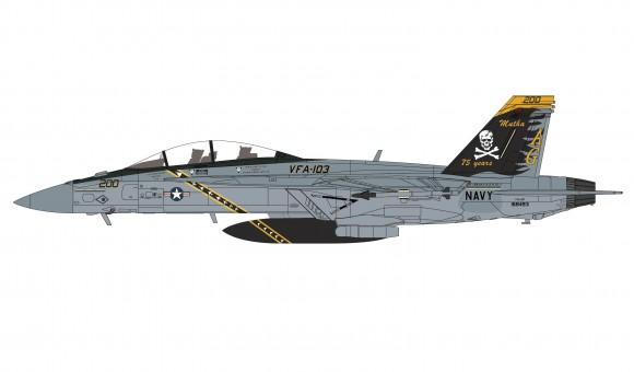 F/A-18F Super Hornet USS Abraham Lincoln 2017 75th anniversary scheme VFA-103 Hobby Master HA5113 scale 1:72