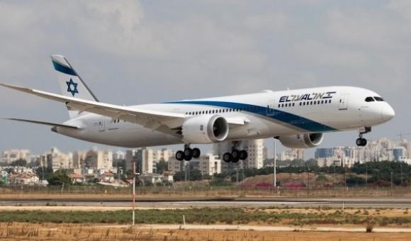 Flaps Down El Al Boeing 787-9 אל על Dreamliner 4X-ERA JC Wings JC4ELY247A scale 1:400