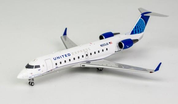 United Express SkyWest new livery CRJ-200ER N223JS die-cast NG Models 52038 scale 1:200