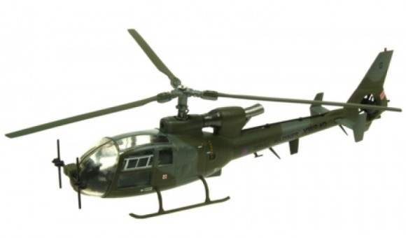 "Westland Gazelle AH.1 XW849 ""Gladys"" 3 Commando Brigade/847 NAS Royal Marines Operation Telic Iraq by Aviation 72 AV72-24015 scale 1:72"
