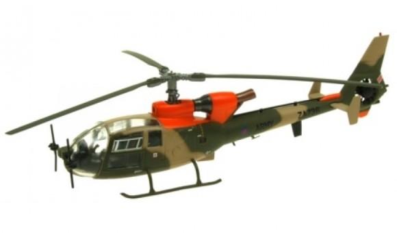 Westland Gazelle – ZA736 British Army Training Unit Suffield Alberta Canada AV72-24013 scale 1:72