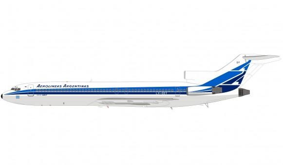 Aerolineas Argentinas Boeing 727-2M7/Adv LV-ODY with stand InFlight IF722LV0820 scale 1:200