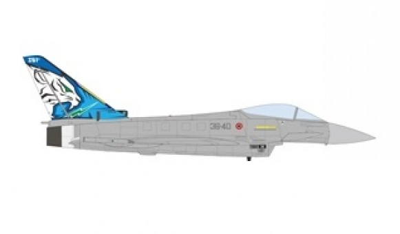 Italian Air Force EuroFighter EF-2000 Typhoon 351st Flight XII Squadron Tiger Meet 2018 JC Wings JCW-72-2000-005 scale 1:72