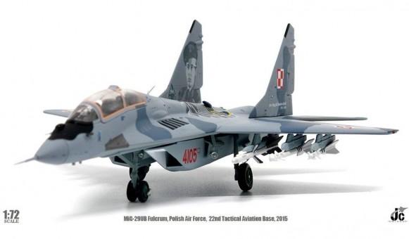"""MiG-29UB Fulcrum Polish Air Force """"22nd TAB"""" JCW-72-MG29-007 scale 1:72"""