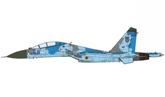 Ukrainian Air Force Su-27UB Flanker-B 831 IAP 2000  JC wings JCW-72-SU27-009 scale 1:72